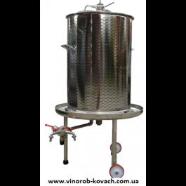 Гидропресс (аква) для вина, 55л, inox