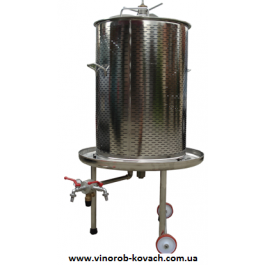 Гидропресс (аква) для вина, 120л, inox