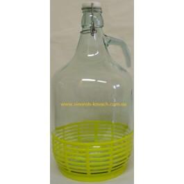 Бутыль - графин в корзинке, 5л