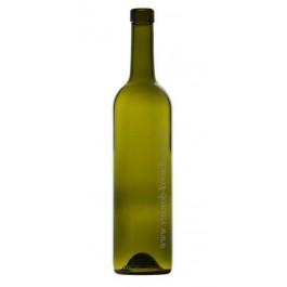 Бутылка BORDEAUX EX OBM 0,75 л, оливковая