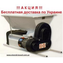 Дробилка с гребнеотделителем, эмалированная, электро