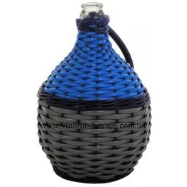 Бутыль для вина - 15 л в пластиковой оплетке