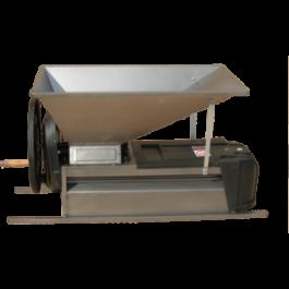 Дробилка для винограда с гребнеотделителем inox, ручная, 900 х 500 мм
