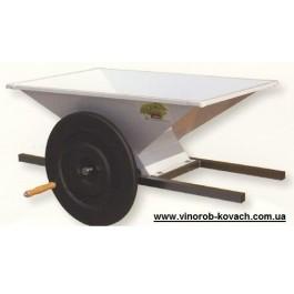 Дробилка для винограда, эмалированная, ручная 950х600