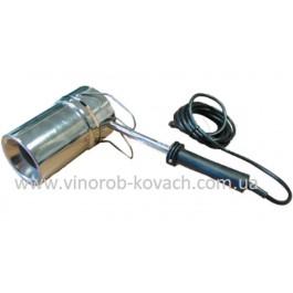 Паяльник для термоусадки колпачков, 220V, Inox