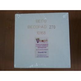 Фильтр-картон Becopad 270 (супертонкая фильтрация) 20 шт