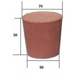 Коническая пробка из резины, для технических целей  50 х 70 / 60 мм