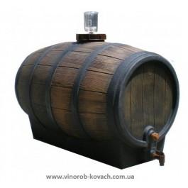 """Бочка для вина пластмассовая, тип """"barrique"""", 350л"""