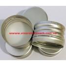 Алюминиевая винтовая пробка, серебро