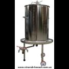Гидропресс (аква) для вина, 35л, inox