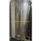 Емкость нержавеющая с плавающей крышкой, пневматическая 1000 л Б/У