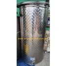 Емкость нержавеющая с плавающей крышкой, пневматическая 600 л Б/У