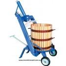 Пресс для винограда - Tico-40 (69л) с гидроприводом